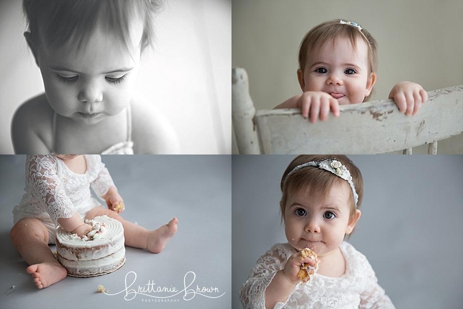 Cake Smash Pictures Lexington, KY Photographer