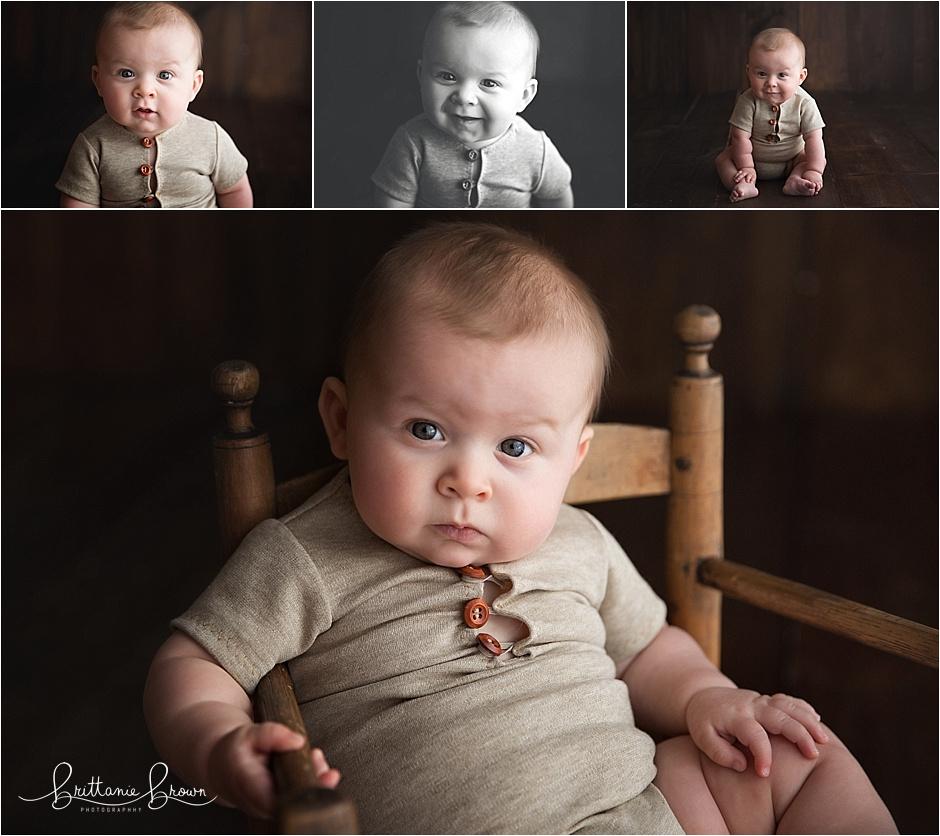 6 month session baby photographer lexington, ky