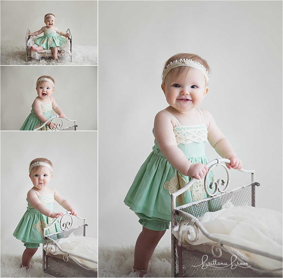 One Year Cake Smash Photography Session Lexington, KY