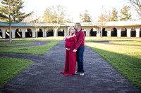 Maternity Pictures at Keeneland